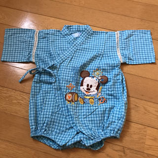ディズニー(Disney)のミッキー甚平(甚平/浴衣)