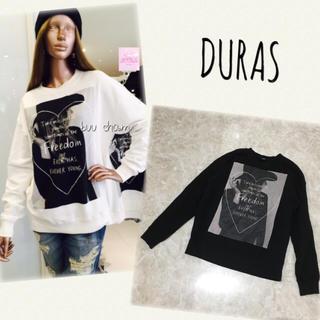 デュラス(DURAS)のDURAS♡ビッグスウェットプルオーバー(トレーナー/スウェット)