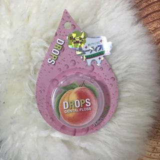 フランフラン(Francfranc)のビューティーフロス ピーチの味付きフロス 歯ブラシ用品 ドロップスフランフラン(歯ブラシ/デンタルフロス)