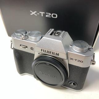 フジフイルム(富士フイルム)のFUJIFILM 富士フイルム X-T20 シルバー (ミラーレス一眼)