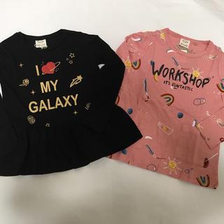 ザラ(ZARA)のZARA 可愛い長袖Tシャツ 二枚セット110〜(Tシャツ/カットソー)