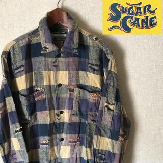 シュガーケーン(Sugar Cane)のSUGAR CANE シュガーケーン メンズ シャツ マルチカラーレアデザイン (シャツ)