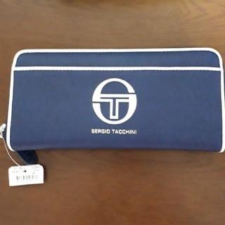 セルジオタッキーニ(Sergio Tacchini)のお値下げ!セルジオタッキーニ⭐長財布⭐ネイビータグ付き。(財布)
