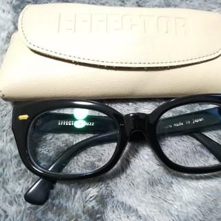 エフェクター(EFFECTOR)のエフェクター effector FUZZ 眼鏡 サングラス 金(サングラス/メガネ)