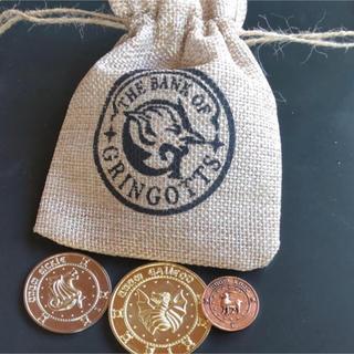 ハリー・ポッターGringotts銀行Coin Pieces&麻袋(小道具)