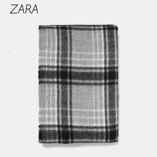 ザラ(ZARA)の【新品・未使用】ZARA チェック ストール マフラー(マフラー/ショール)