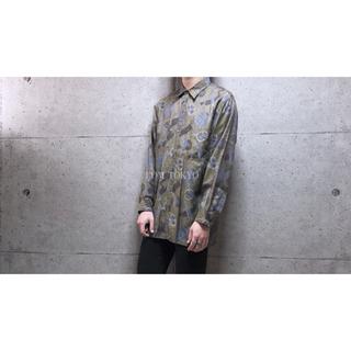 [used]art design antique shirt.(シャツ)