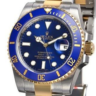 サブマリーナデイト 116613LB(腕時計(アナログ))