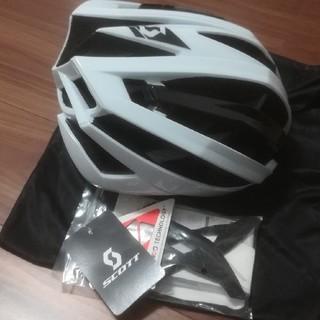 スコット(SCOTT)のスコット ロードバイク ヘルメット 未使用(ウエア)