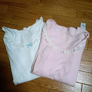 シマムラ(しまむら)の160  女の子長袖シャツ 二枚セット(下着)