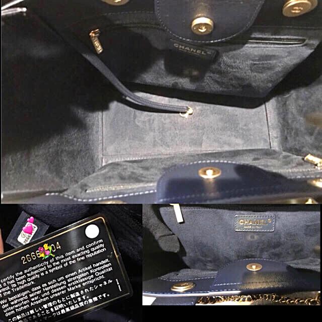 8450d4c52b67 CHANEL - ♡新品未使用❤ 完売♡2018AW♡CHANELトートバッグドーヴィル ...