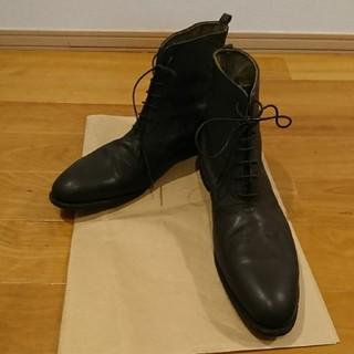 エヌフォー(N4)のN4 ブーツ ブラック size 3(ブーツ)
