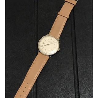 ユンハンス(JUNGHANS)のjunghans  ユンハンス  腕時計  マックスビル  手巻き  機械式(腕時計(アナログ))
