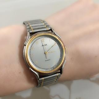 アルバ(ALBA)のT009 セイコー アルバ ALBA 腕時計 稼働品 レディース 日本製(腕時計)