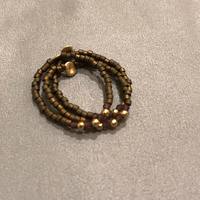 TOMORROWLAND(トゥモローランド)のトゥモローランド  デプレ ビーズリング レディースのアクセサリー(リング(指輪))の商品写真