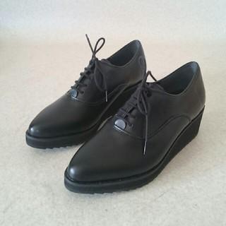 新品‼cherish マニッシュシューズ 21cm レースアップシューズ (ローファー/革靴)