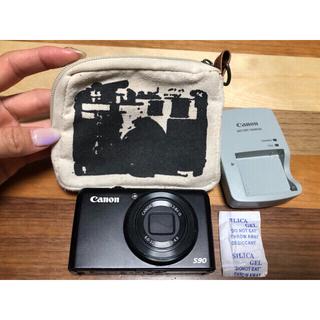 キヤノン(Canon)の動作確認済☆キャノン パワーショットS90 used品(コンパクトデジタルカメラ)