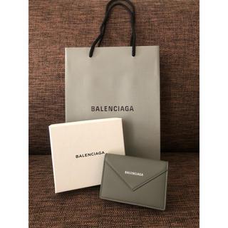 バレンシアガ(Balenciaga)の【新品未使用】BALENCIAGA カードケース/名刺ケース グレー(名刺入れ/定期入れ)