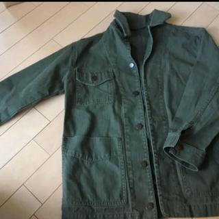 ジーユー(GU)のジャケット カーキー GU(ミリタリージャケット)