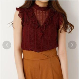 スライ(SLY)のSLY STRIPE LACE RAFFLE T/T(Tシャツ(半袖/袖なし))