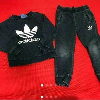 アディダス(adidas)のadidas オリジナルス 上下 セットアップ♡ キッズの100サイズです☆(その他)