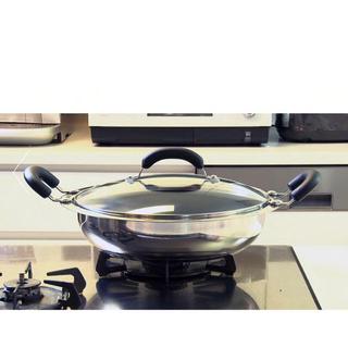 マイヤー(MEYER)の新品未使☆マイヤー土鍋 IH対応レシピシルバー マイヤー ホットポット26cm (鍋/フライパン)