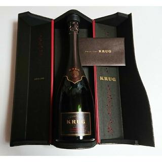 クリュッグ(Krug)のせんとくん様専用 KRUG クリュッグ ヴィンテージ 1998年 箱・証明書付 (シャンパン/スパークリングワイン)