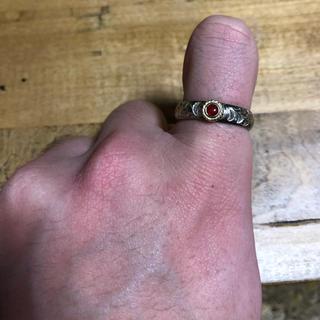 ゴローズ(goro's)のTADY&KING 赤珊瑚 リング 19号(リング(指輪))