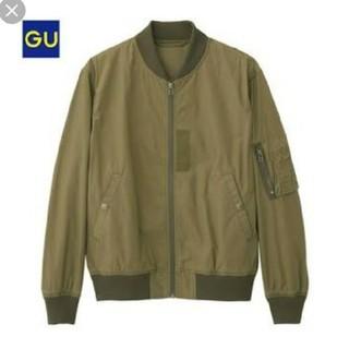 ジーユー(GU)の【美品】GU MA-1  ブルゾン ジーユー ミリタリージャケット 服 アウター(ブルゾン)