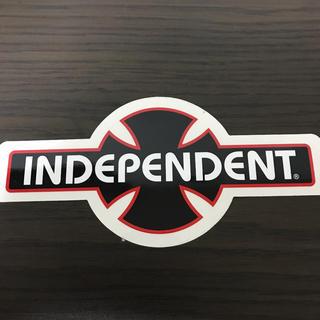 【縦8.5cm横17.8cm】independent ステッカー