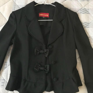 ボディライン(BODYLINE)の入学式リボン付きジャケット(ドレス/フォーマル)