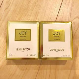 ジャンパトゥ(JEAN PATOU)のjean patou ジーン パトゥ ジョイ 香水 7ml 2個セット 未使用(香水(女性用))