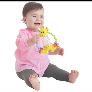 トイザラス(トイザらス)のトイザらス ブルーイン きりんさんのラトル おもちゃ(がらがら/ラトル)