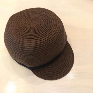 無印良品 帽子 キッズ 54cm