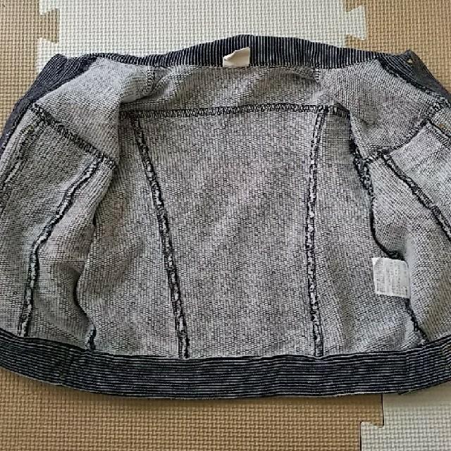 Donkey Jossy(ドンキージョシー)の90cm  Donkey Jossy  柔らかいジージャン  綿100% キッズ/ベビー/マタニティのキッズ服 男の子用(90cm~)(ジャケット/上着)の商品写真
