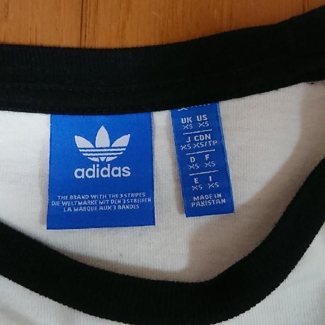 adidas(アディダス)のadidas originals トップス レディースのトップス(Tシャツ(長袖/七分))の商品写真
