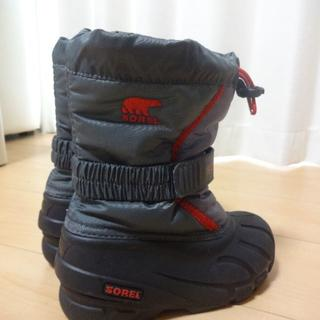 ソレル(SOREL)の美品・使用8時間 ソレル スノーブーツ 17センチ SOREL(ブーツ)