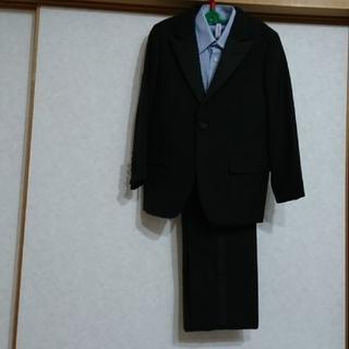 ポロラルフローレン(POLO RALPH LAUREN)のポロラルフローレンブラック フォーマル(120㎝)Yシャツ(ノーブランド)セット(ドレス/フォーマル)