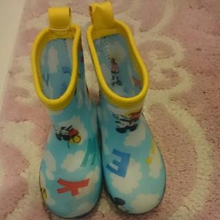 ディズニー(Disney)の【新品タグ付き】レインブーツ 14センチ(長靴/レインシューズ)
