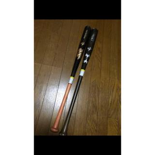 アンダーアーマー(UNDER ARMOUR)の野球 木製硬式バット 二本セット まとめ売りです!(バット)