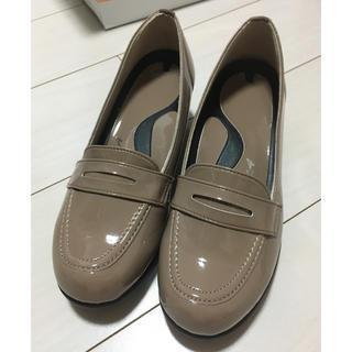 リゲッタ(Re:getA)の未使用展示品 リゲッタ RT01 ウェッジローファーパンプス 日本製 サイズS(ローファー/革靴)