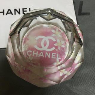 シャネル(CHANEL)のクリスタル灰皿(灰皿)