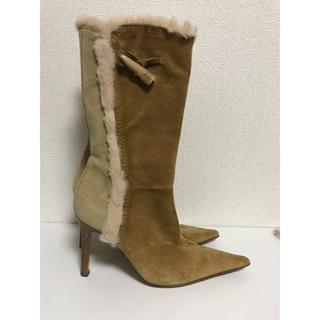 フェラガモ(Ferragamo)のスエード革ブーツ(ブーツ)