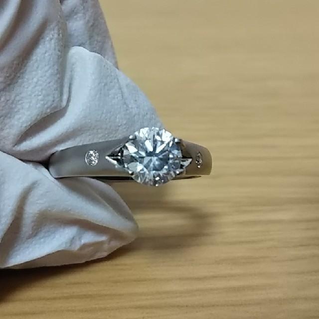 【大粒ダイヤモンド】定価66万円!!新品未使用天然ダイヤモンド1.162ct レディースのアクセサリー(リング(指輪))の商品写真