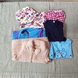 ムジルシリョウヒン(MUJI (無印良品))の女の子 冬服 90㎝ まとめ売り(Tシャツ/カットソー)