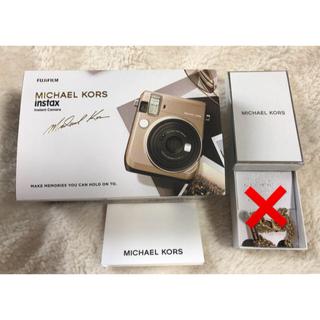 マイケルコース(Michael Kors)の新品未使用 MICHAEL KORS マイケルコース instax mini70(フィルムカメラ)
