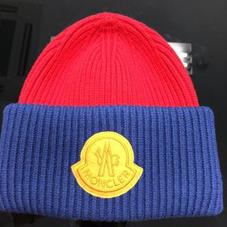 モンクレール(MONCLER)のモンクレール ニット帽 新品未使用!(ニット帽/ビーニー)