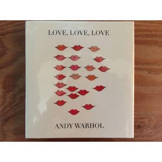 アンディウォーホル(Andy Warhol)のANDY WARHOL LOVE,LOVE,LOVE(アート/エンタメ)