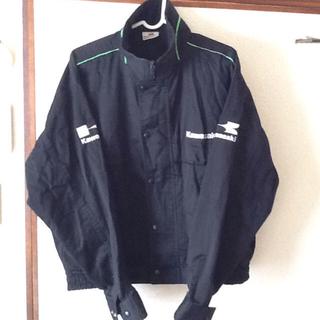 カワサキ(カワサキ)のUSAkawasaki純正ジャケットカブはち様専用(装備/装具)