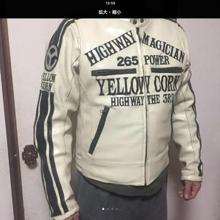 イエローコーン(YeLLOW CORN)のイエローコーンジャケットベスト付き(ライダースジャケット)